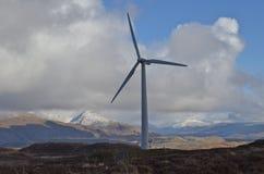 Wind-Turbine lizenzfreies stockfoto