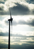 Wind Turbine. Profile in Essex county , Canada Royalty Free Stock Photos