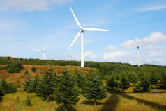 Wind Turbine. Royalty Free Stock Photo