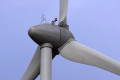 Wind turbine Stock Photo