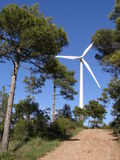 Wind turbine Stock Photography