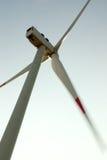 Wind turbine. Low angle view of wind turbine Stock Photos