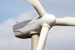 Wind turbine. Detail of wind turbine stock images