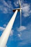 Wind turbine. Detail of wind turbine stock image