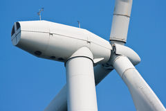 Wind turbine. Of huge windmill stock photography