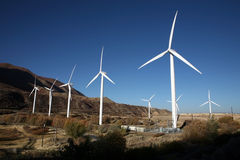 Wind Turbine. A Wind Turbine on a Windfarm Royalty Free Stock Image