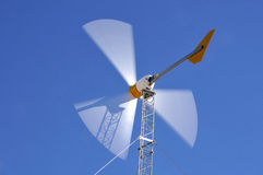 Wind Turbine in Action Stock Photography
