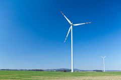 Wind turbine, alternative energy Royalty Free Stock Image