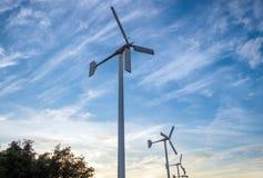 Wind turbine alternative energy clean Stock Photography