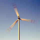 Wind turbine, alternative energy Stock Photography