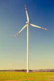 Wind turbine, alternative energy Stock Photo