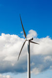 Wind Turbine - alternative and green energy source Royalty Free Stock Image
