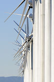 Wind turbine array Royalty Free Stock Images