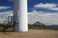 Wind Turbine Base Stock Photos