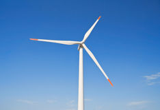 Wind turbine blade. Royalty Free Stock Images