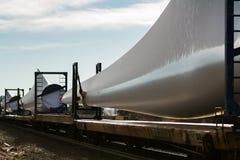 Wind turbine blades Royalty Free Stock Photography