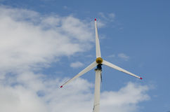 Wind turbine. Blue sky  and clear Stock Photo