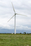 A wind turbine and a brooding Yorkshire sky. Stock Photography