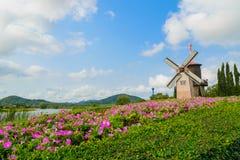 Wind Turbine. At chonburi province (Thailand Royalty Free Stock Photography