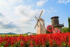 Wind Turbine. At chonburi province (Thailand Royalty Free Stock Photo