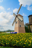 Wind Turbine. At chonburi province (Thailand Royalty Free Stock Images