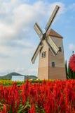 Wind Turbine. At chonburi province (Thailand Stock Image