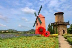 Wind Turbine at chonburi province Stock Photography