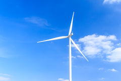 Wind turbine clean energy concept Stock Photography