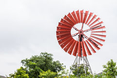 Wind turbine with a clear blue sky Stock Photography
