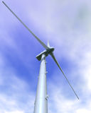 Wind Turbine Close-up Royalty Free Stock Image