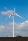 Wind turbine on corn field Stock Photography