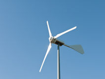Wind turbine detail Stock Images
