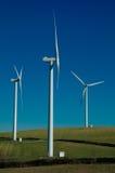 Wind-turbine drie stock foto's
