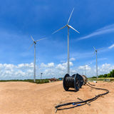 Wind Turbine for Electric. Royalty Free Stock Image