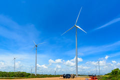 Wind Turbine for Electric. Stock Photo