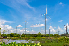 Wind Turbine for Electric. Stock Photos