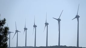Wind Turbine and the Electric Pole
