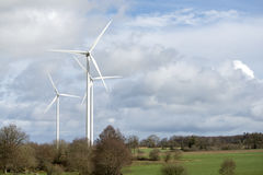 Wind turbine for electricity production Royalty Free Stock Image