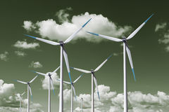 Wind turbine energy Stock Photography