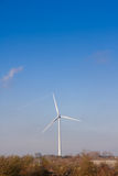 Wind turbine in english countryside Royalty Free Stock Photo