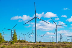Wind turbine. Estonia, EU Stock Photos