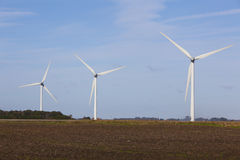 Wind turbine farm. Stock Photography