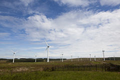 Wind turbine farm. Stock Image