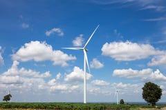 Wind Turbine Farm Royalty Free Stock Image