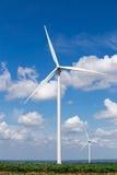 Wind Turbine Farm Stock Photography