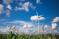 Wind Turbine Farm Royalty Free Stock Images
