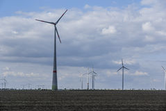 Wind turbine farm Stock Photo