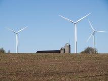 Wind Turbine Farm Stock Images