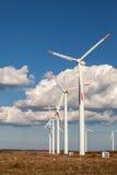 Wind turbine farm Royalty Free Stock Photos