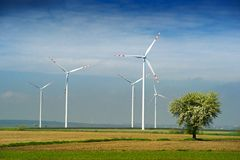 Wind turbine. Stock Image